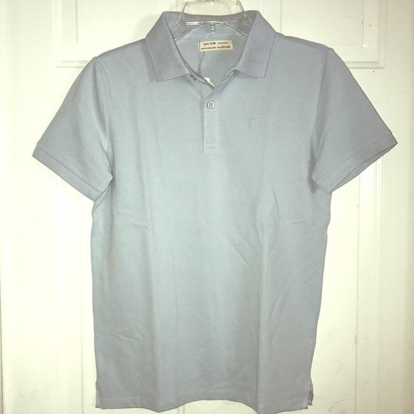 abf3b8f3c Zara Kids light blue polo shirt size 11 12